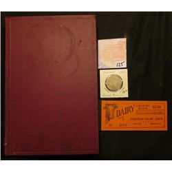 "1950 ""Hadacol"" 'Quack Medicine"" Token; Book ""The Mirrors of 1932 Anonymous With 10 Cartoons by Casar"