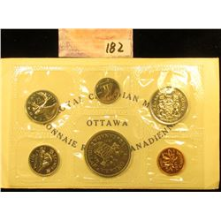 1871-1971 British Columbia, Canada six-piece Mint Set with Commemorative Dollar in original envelope