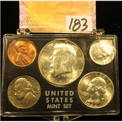 1964 P U.S.Year Set in a Snap tight holder. Brilliant Uncirculated.