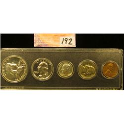 1962 U.S. Proof Set in a case.