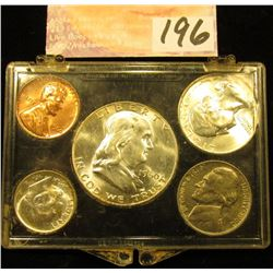 1960 P U.S.Year Set in a Snap tight holder. Brilliant Uncirculated.