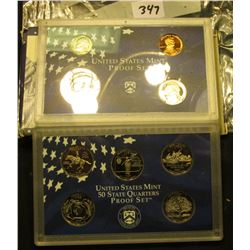 1999 S U.S. Proof Set. Original as issued.