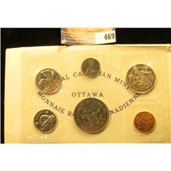 1871-1971 British Columbia, Canada six-piece Mint Set with Commemorative Dollar in original cellopha
