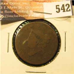 1818 U.S. Large Cent, AG.