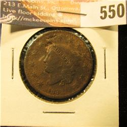 1832 U.S. Large Cent, AG.