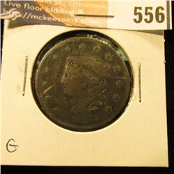 1835 Head of 34 U.S. Large Cent. Good.
