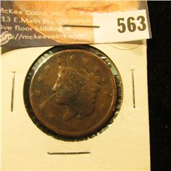 1837 U.S. Large Cent, AG.