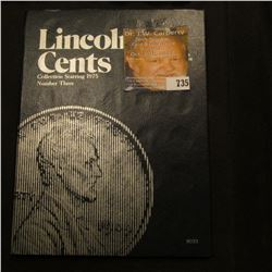 1975-2005 partial Lincoln Cent Set in a blue Whitman folder. Many BU coins.