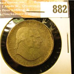 1776-1926 Sesquicentennial Commemorative Half Dollar, toned EF.