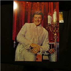 "8"" x 10 3/4"" Colored Portrait autographed by ""Liberace""."