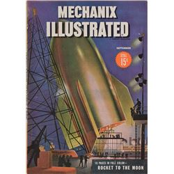 Mechanix Illustrated 1945 Magazine