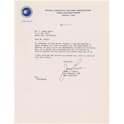 James Lovell 1963 Typed Letter Signed