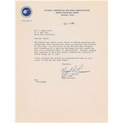 Gus Grissom 1963 Typed Letter Signed