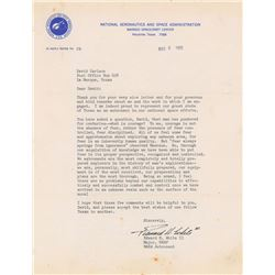 Edward H. White II 1965 Typed Letter Signed