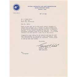 Edward H. White II 1963 Typed Letter Signed