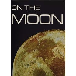 Buzz Aldrin and Michael Collins Signed 'Footprints on the Moon' Book