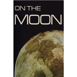 Michael Collins Signed 'Footprints on the Moon' Book