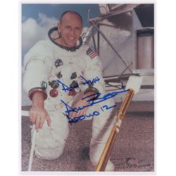Apollo 12 Crew Set of (3) Signed Photographs