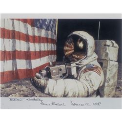 Alan Bean Set of (3) Signed Photographs