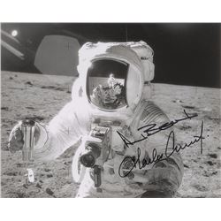 Alan Bean and Charles Conrad Signed Photograph