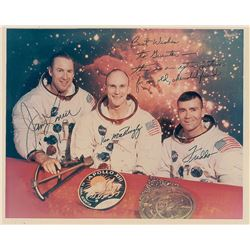 Apollo 13 Crew-Signed Photograph
