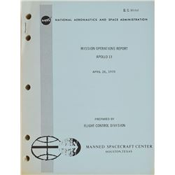 Apollo 13 Mission Operations Report