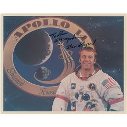 Alan Shepard Signed Photograph