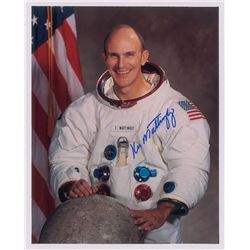 Ken Mattingly Signed Photograph