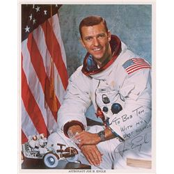 Joe Engle Apollo 17 Signed Photograph