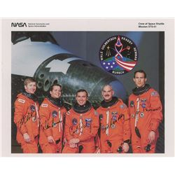 STS-51 Crew-Signed Photograph