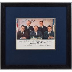 NASA Astronaut Group 4 Signed Photograph