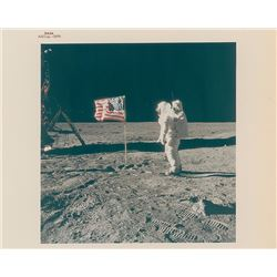 Apollo 11 Set of (3) Original Vintage NASA Photographs