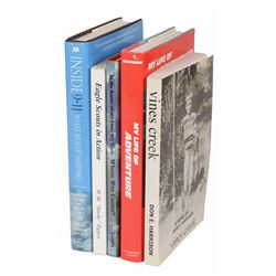 Gene Cernan's Collection of (5) Signed Books