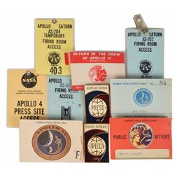 Jack King's Apollo Badge Collection