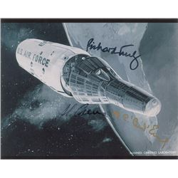 Manned Orbiting Laboratory Signed Photograph
