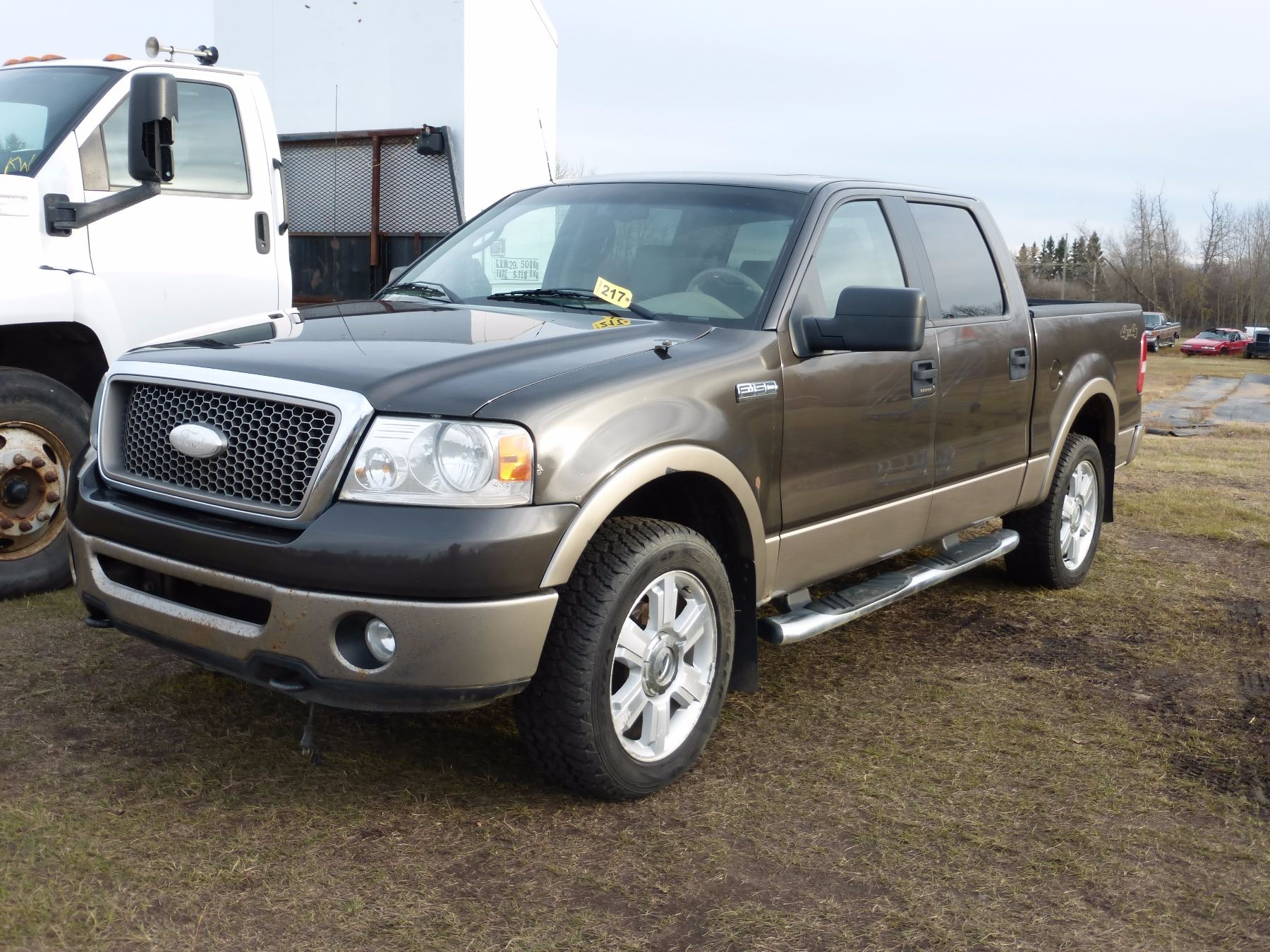Image 1 2006 ford f150 lariat 4x4 truck