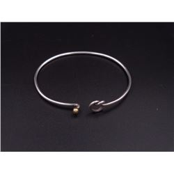 Tiffany Silver Love Knot Bangle