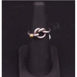 Tiffany Silver Love Knot Ring