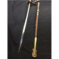 Pre WWII Naval Sword with Sheath