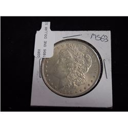 1896 Morgan Dollar MS63