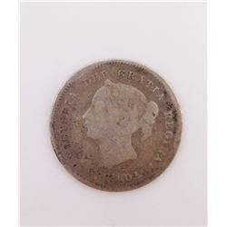 1881 Five Cents Canada (VG)