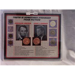 Lincoln and Kennedy Truth Coin Set