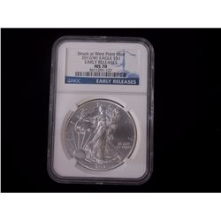 2012-W American Eagle (NGC) MS70