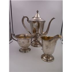 Gorham Silver Plated Tea Cup Set