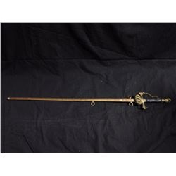 "30"" Authentic Gesthemene Commandery Sword"