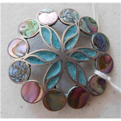 Taxco S.S. & Abalone Pin or Pendant