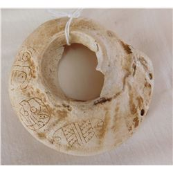 Shell Gorget Carving