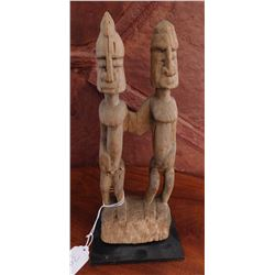 Dogon Pair Carving w/Stand