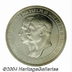 Prussia. Wilhelm II 3 Mark 1911A, KM531, Proof