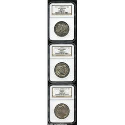 Wurttemberg. A trio of 3 Mark Commemoratives